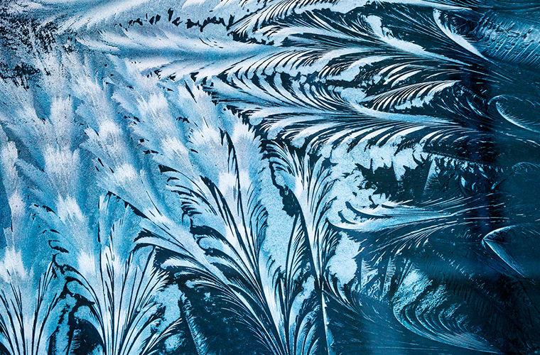 морозные узоры картинка рисунок восточном стиле