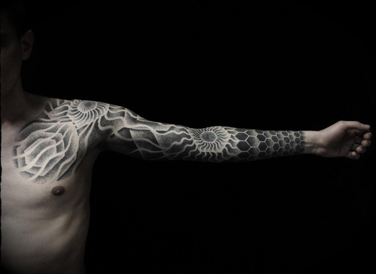 очень классное тату фото черно белые этим только