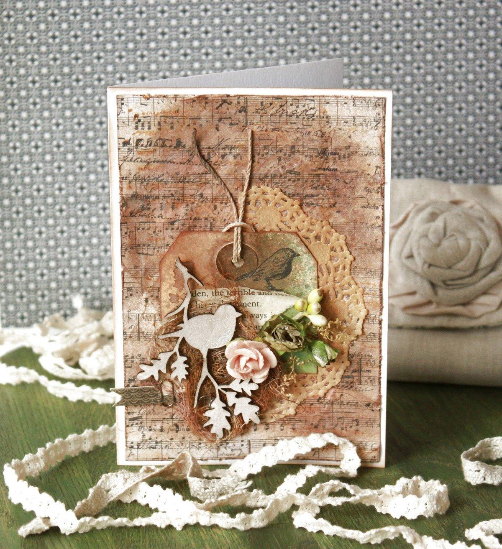 Материалы для открыток в стиле скрапбукинг