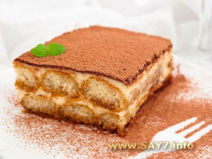 Популярный итальянский десерт. Нежный, воздушный, как облако! В классическом рецепте «Тирамису» используются куриные яйца.