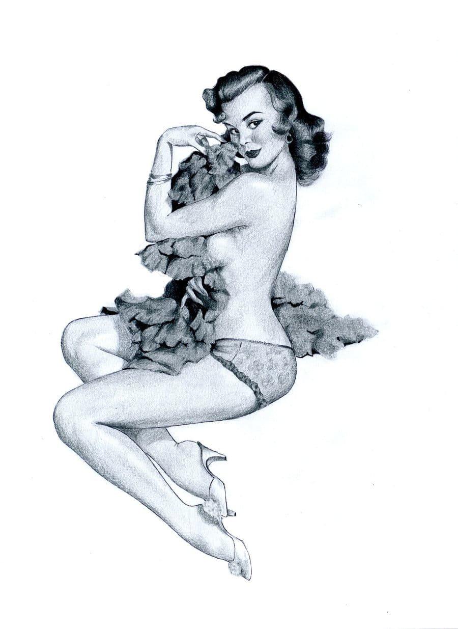 Эротические рисунки в векторе, подборка трансов кончают в анал