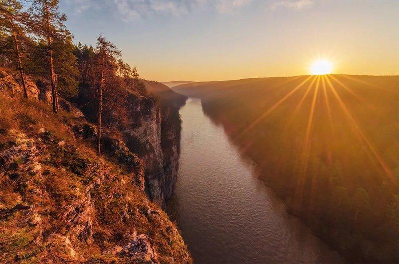 Рассвет на Южном Урале