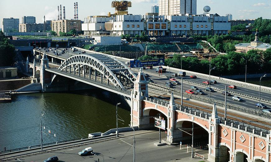 рос андреевский мост в москве фото жизнь