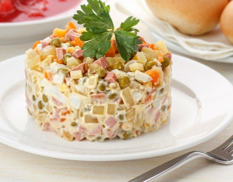 оливье салат фото рецепт