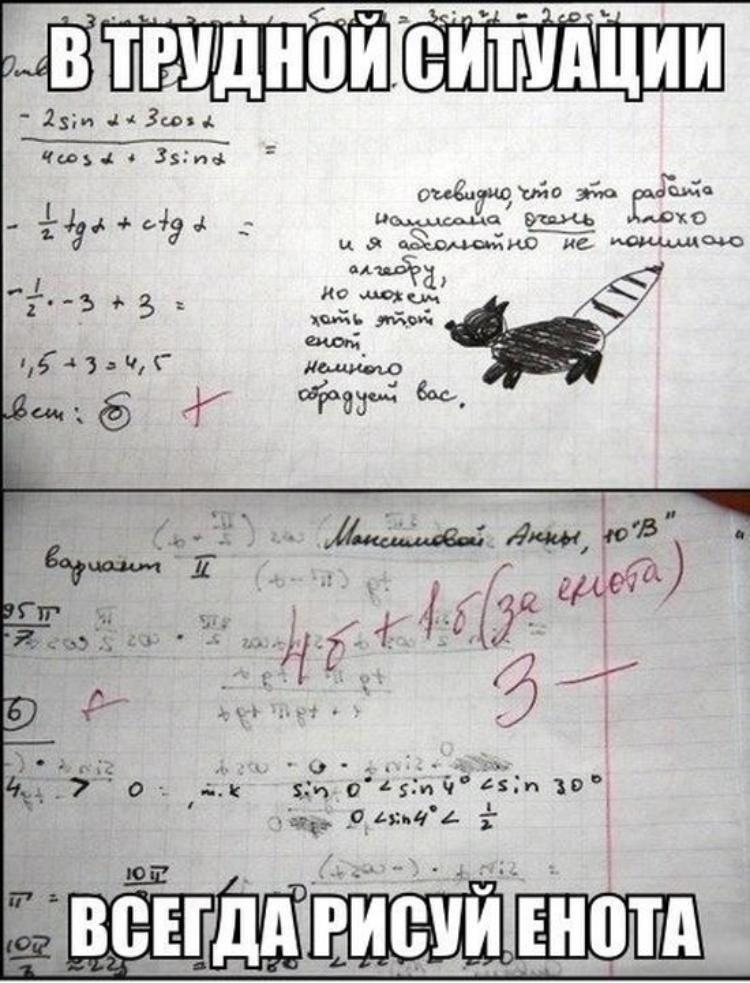 России, смешные картинки алгебра