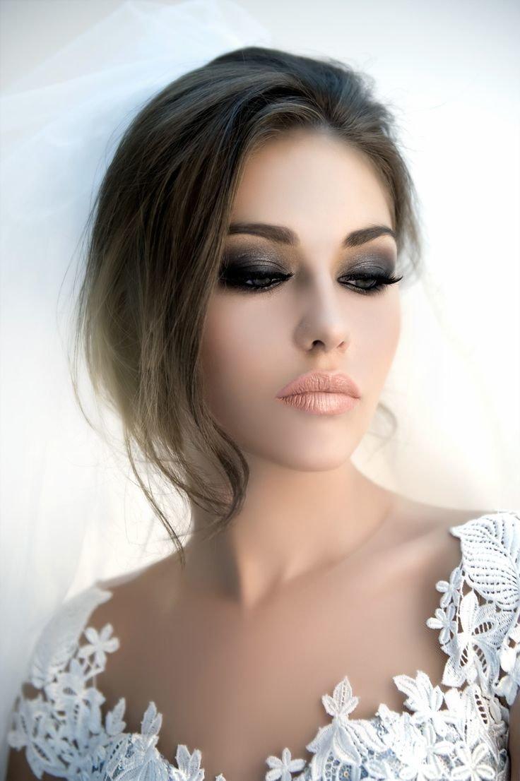 Dark Smokey Eyes Wedding Makeup Card From User Rymarevanatali In