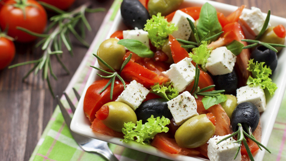 Оливки салат классический