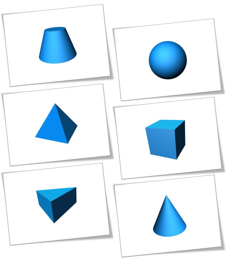 Картинка фигуры геометрические тела