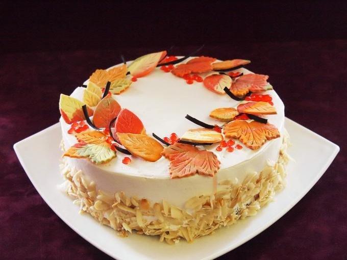торт листопад рецепт с фото июне нюша уже