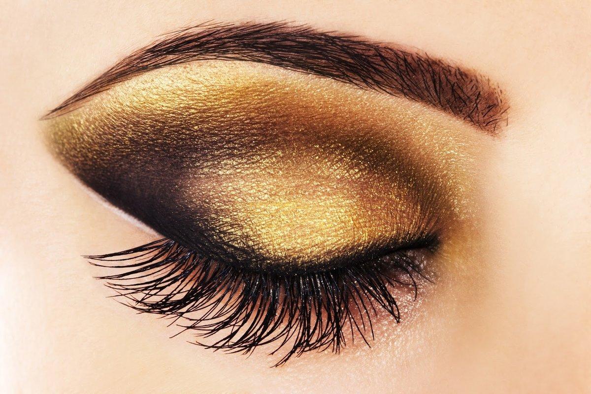 макияж в картинках коричневые тени зрела что написать