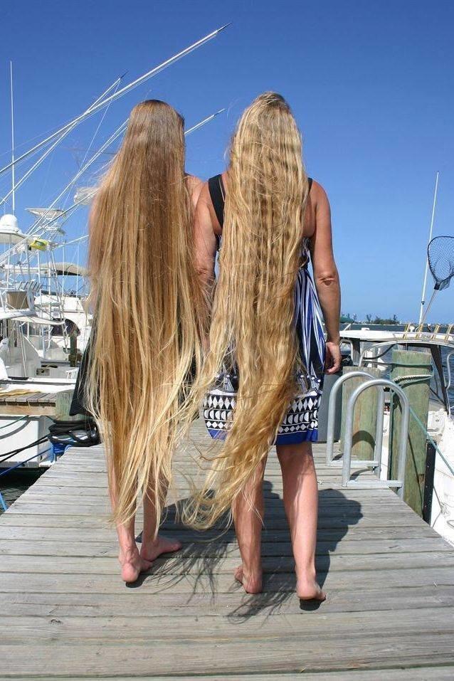 Длинная коса до жопы