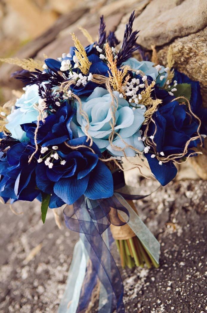 фотографии в оттенках синего