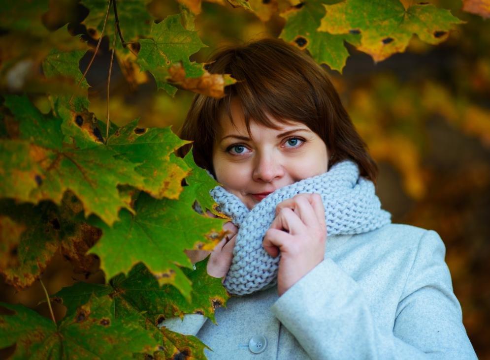 генерирующее красивые осенние фотопортреты лук можно