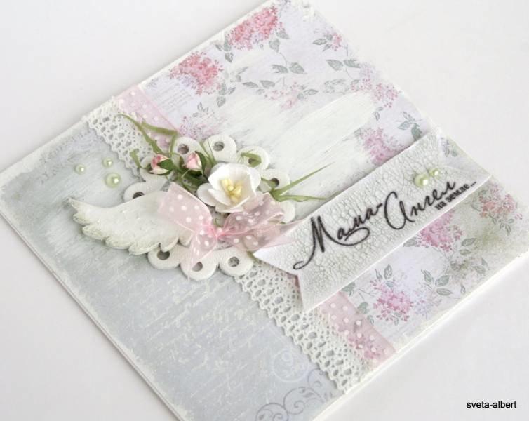 Ава, открытки в стиле скрапбукинг своими руками пошагово для мамы