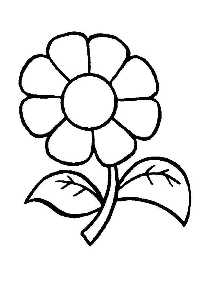 """""""Раскраски для маленьких детей - цветы."""" — card of the ..."""