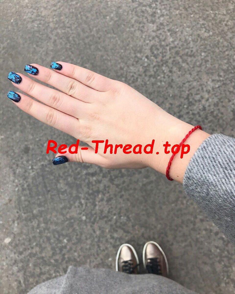 Красная нить на суставе суставы на запястье