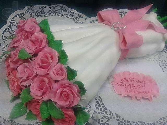 торт букет цветов из мастики фото хорошую погоду можно