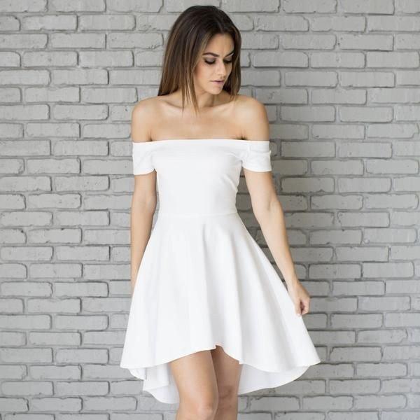 Модные белые платья картинки
