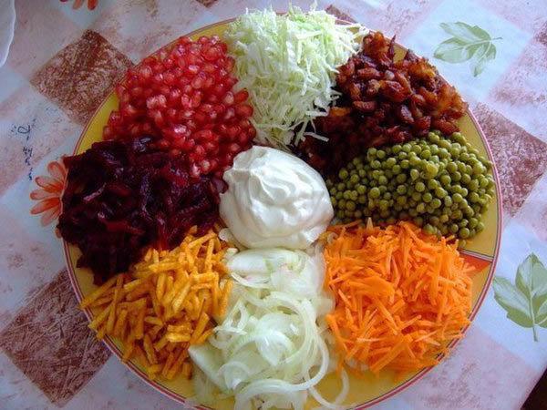 Салат восьмое чудо света