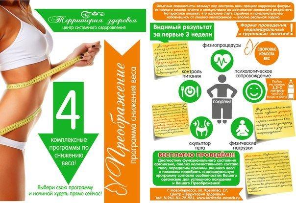 Программа по похудению здоровье