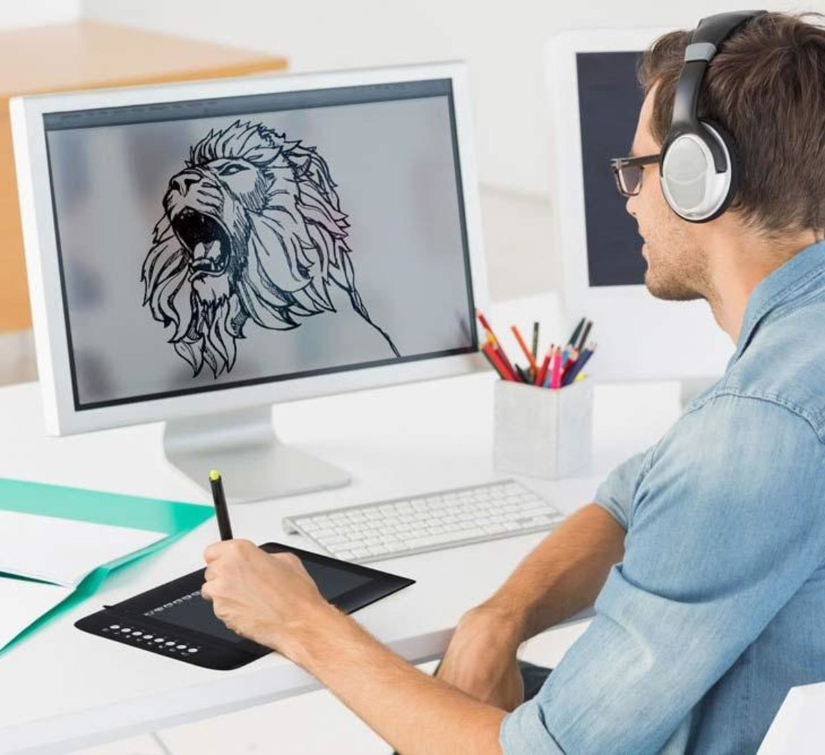 Картинки, как создают картинки на компьютере