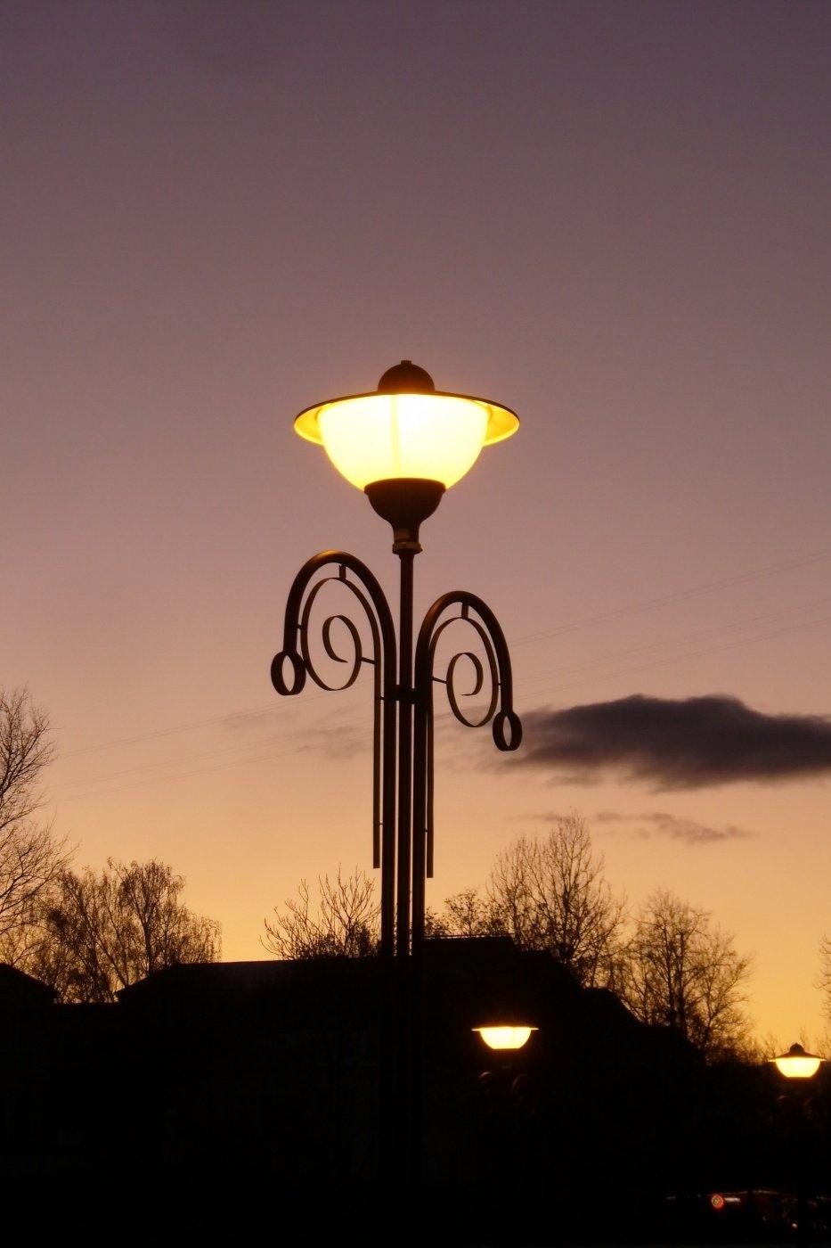 анимация картинки фонари на улице