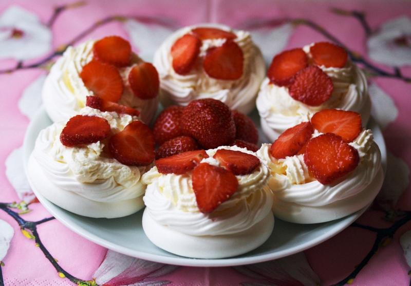 десерт павловой рецепт с фото