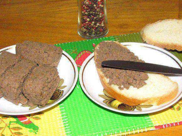 Как приготовить паштет из говяжьей печени в домашних условиях