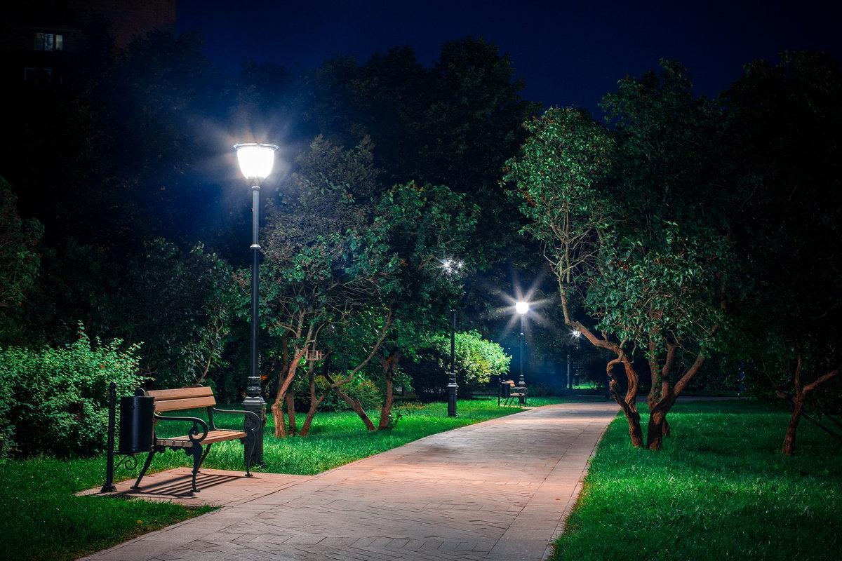 Картинки ночное освещение