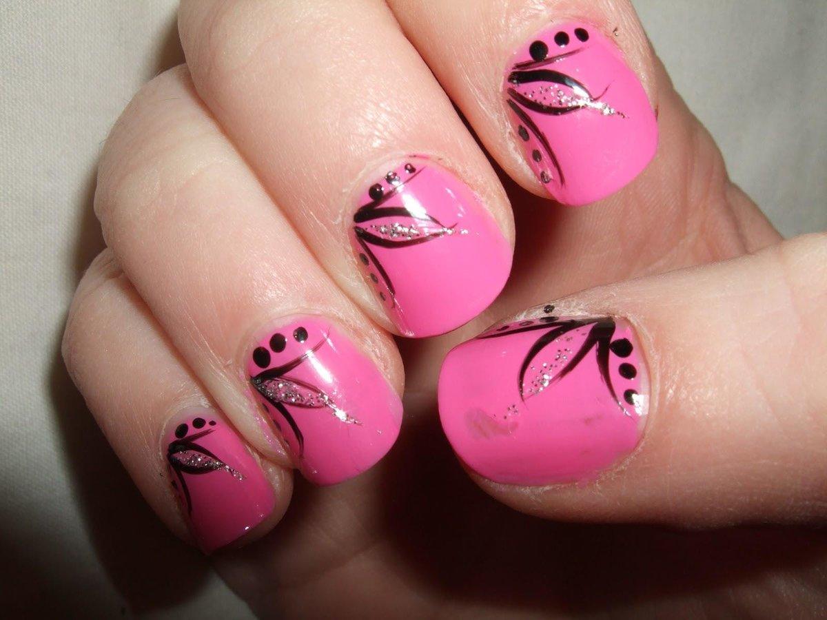 Простые и красивые рисунки на ногтях гель лаком