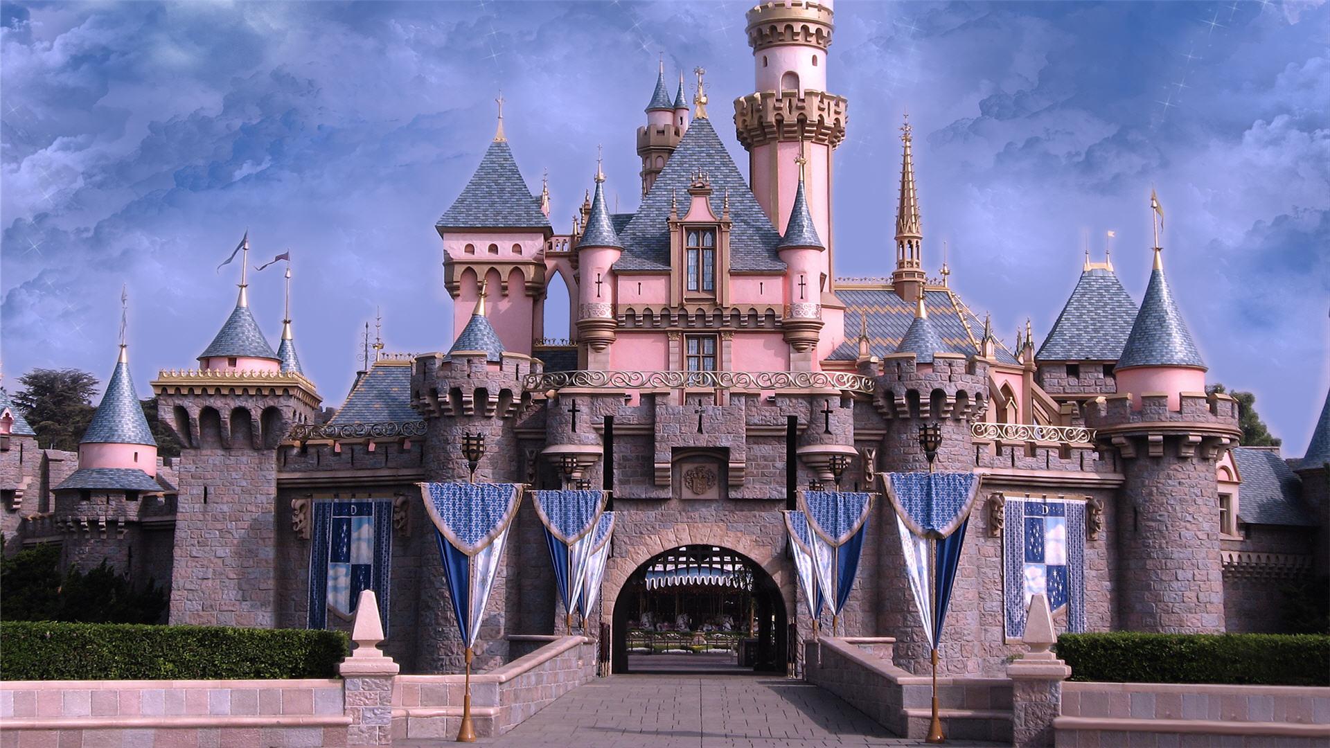 Disney Cinderella Castle Wallpaper