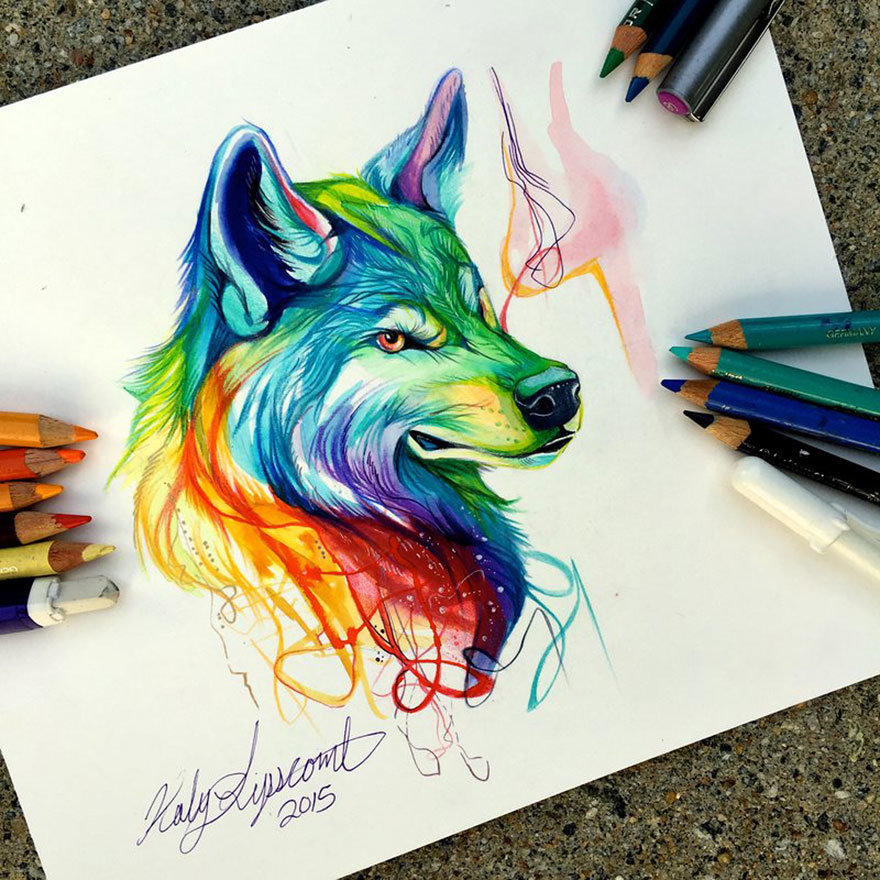 Крутые рисунки цветные, картинки