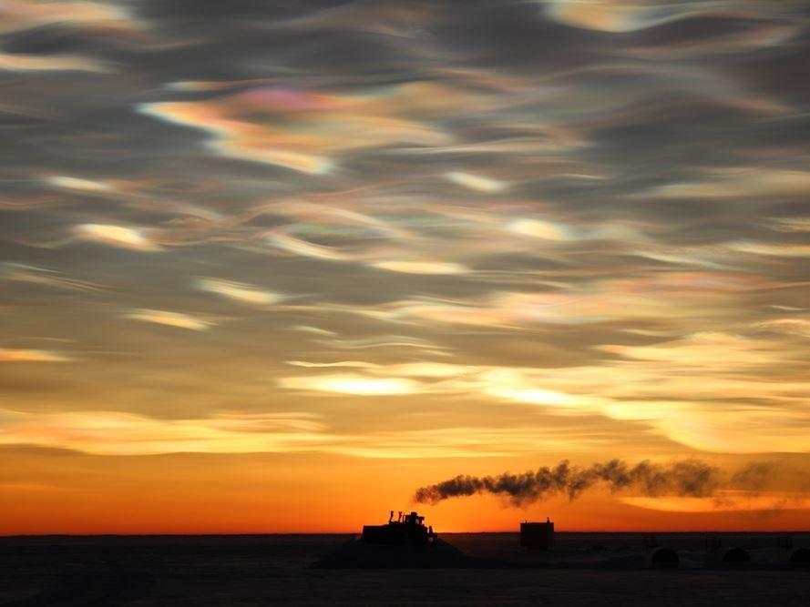 жемчужные облака фото появившемся окне нужно