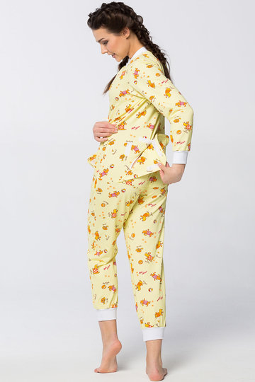 b9aab608b47b0da Жёлтая пижама с длинным рукавом» — карточка пользователя vita ...