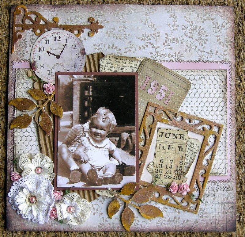 Старинные открытки скрапбукинг