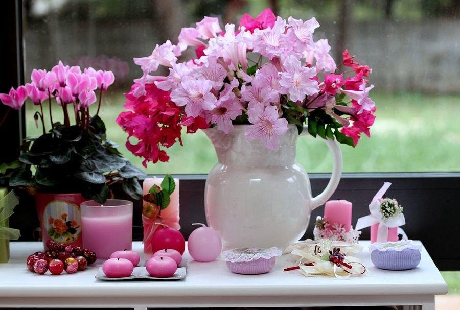 Красивые картинки цветов в вазе