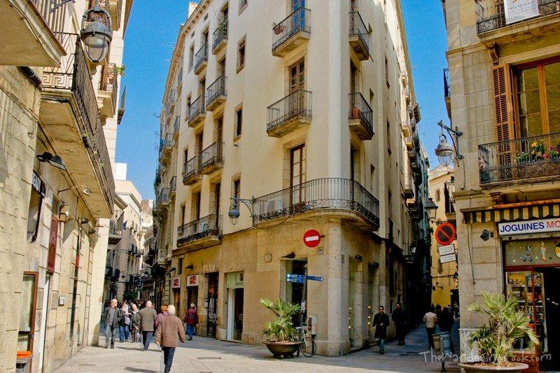 Картинка улица барселоны