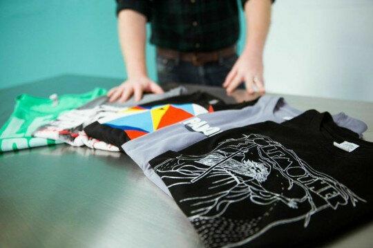 Технология создания футболок с печатью