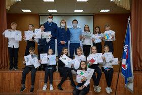 Награждение участников конкурса рисунков «Вместе против коррупции!»