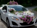 Украшения и аксессуары на свадьбу. Советы по украшению свадебной машины. Украшение лентами и цветами. Украшение авто на свадьбу шарами и бабочками.
