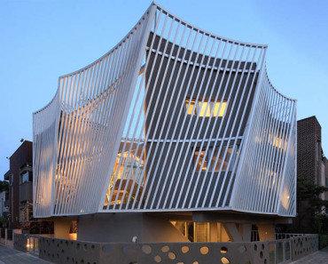 Дом в Южной Корее от IROJE KHM architects