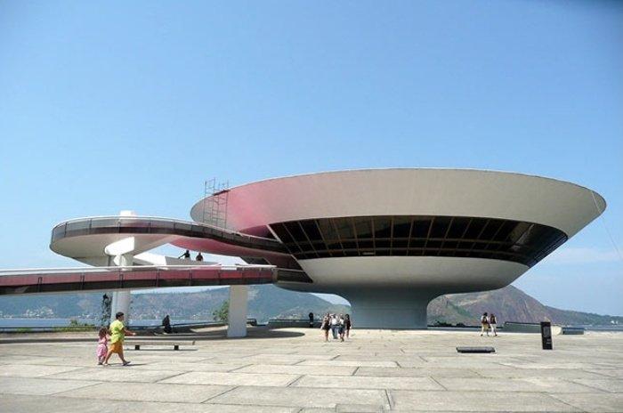 Музей современного искусства – Нитерой, Бразилия