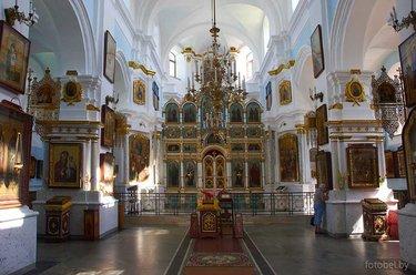 кафедральный собор сошествия святого духа минск внутри