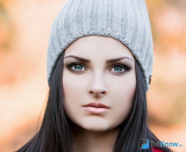 Выполнение макияжа для серо-голубых глаз