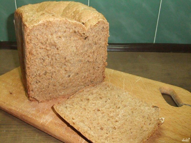 Пошаговый рецепт домашнего хлеба фото