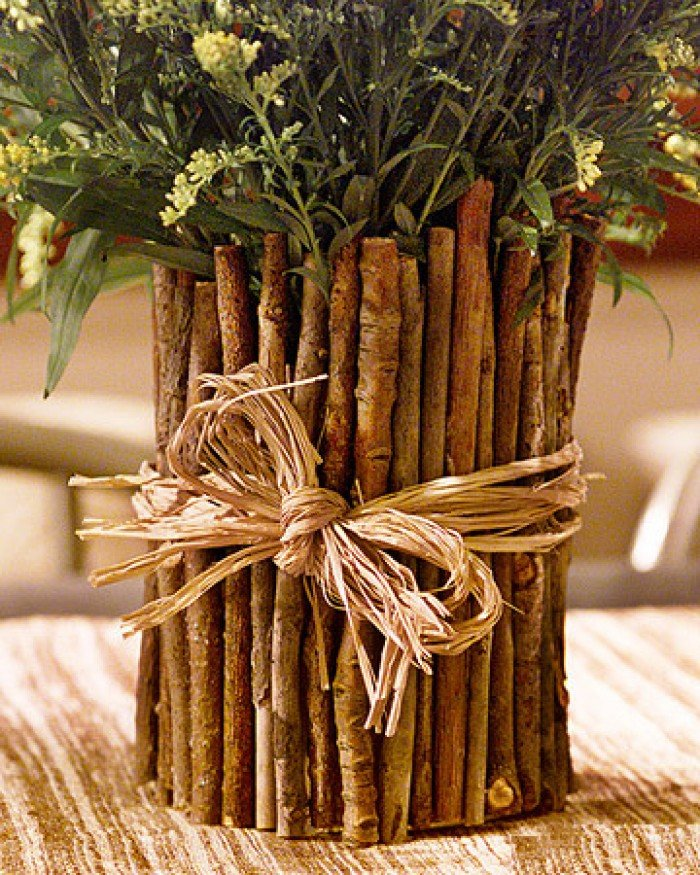 Букеты из натурального дерева