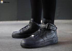 Высокие бордовые замшевые кроссовки Nike Air Force.» — карточка ... 0016a15c8bb