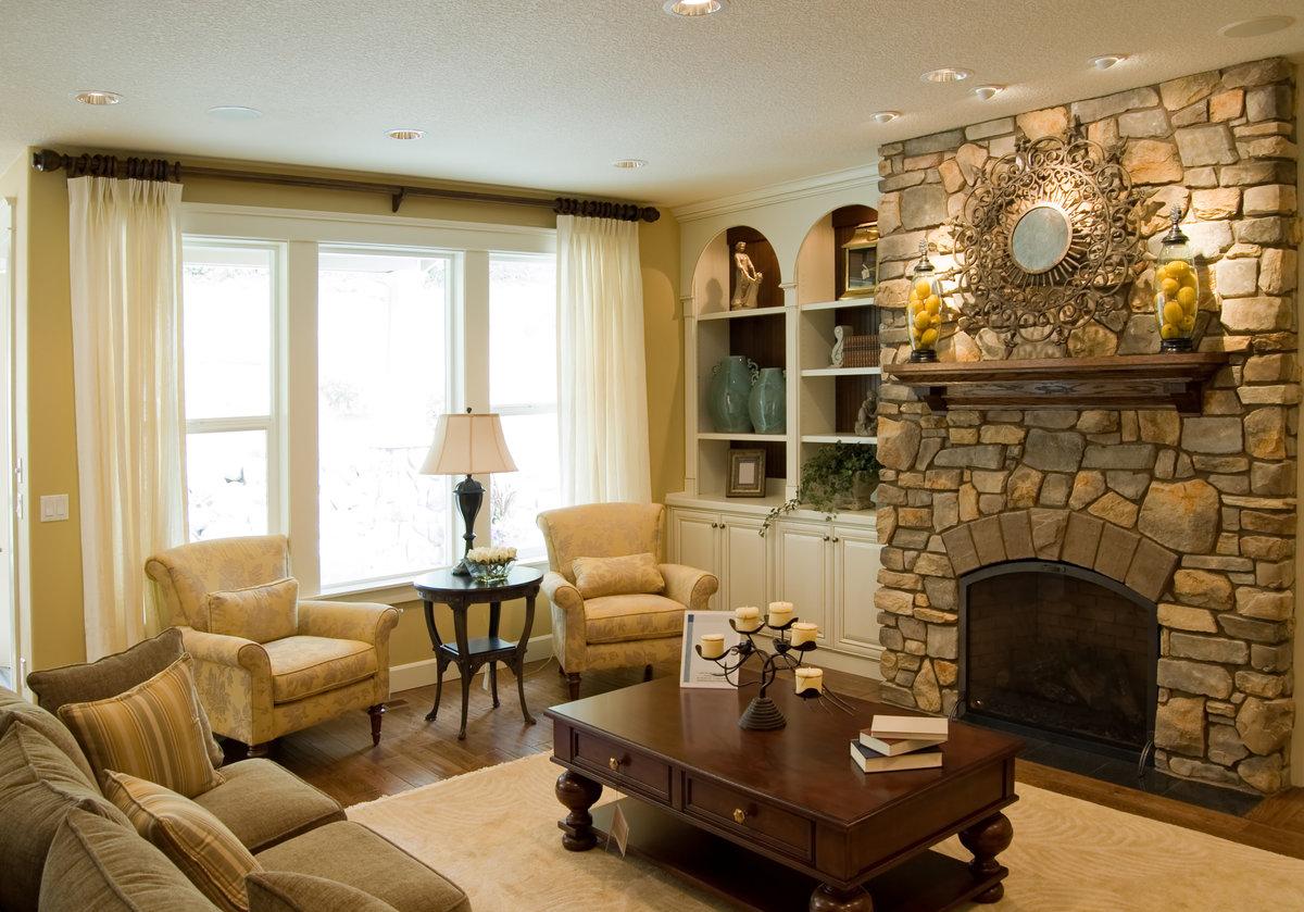 Картинки камины в гостиной