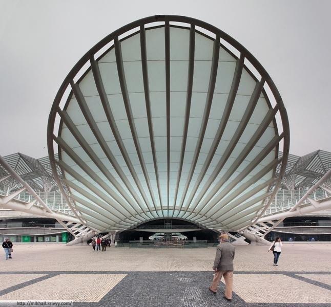 """Железнодорожный вокзал """"Ориенте"""", Лиссабон, 1993–1998"""