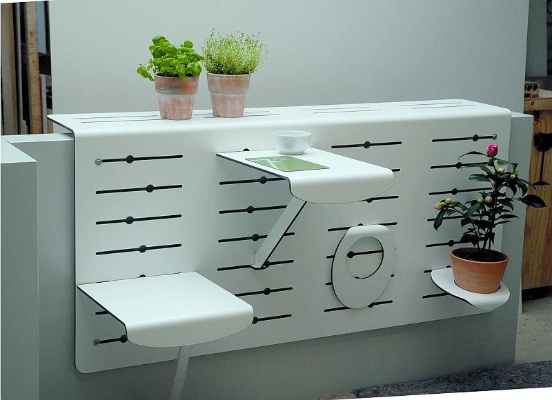 Идеи для балкона: маленький оазис комфорта.